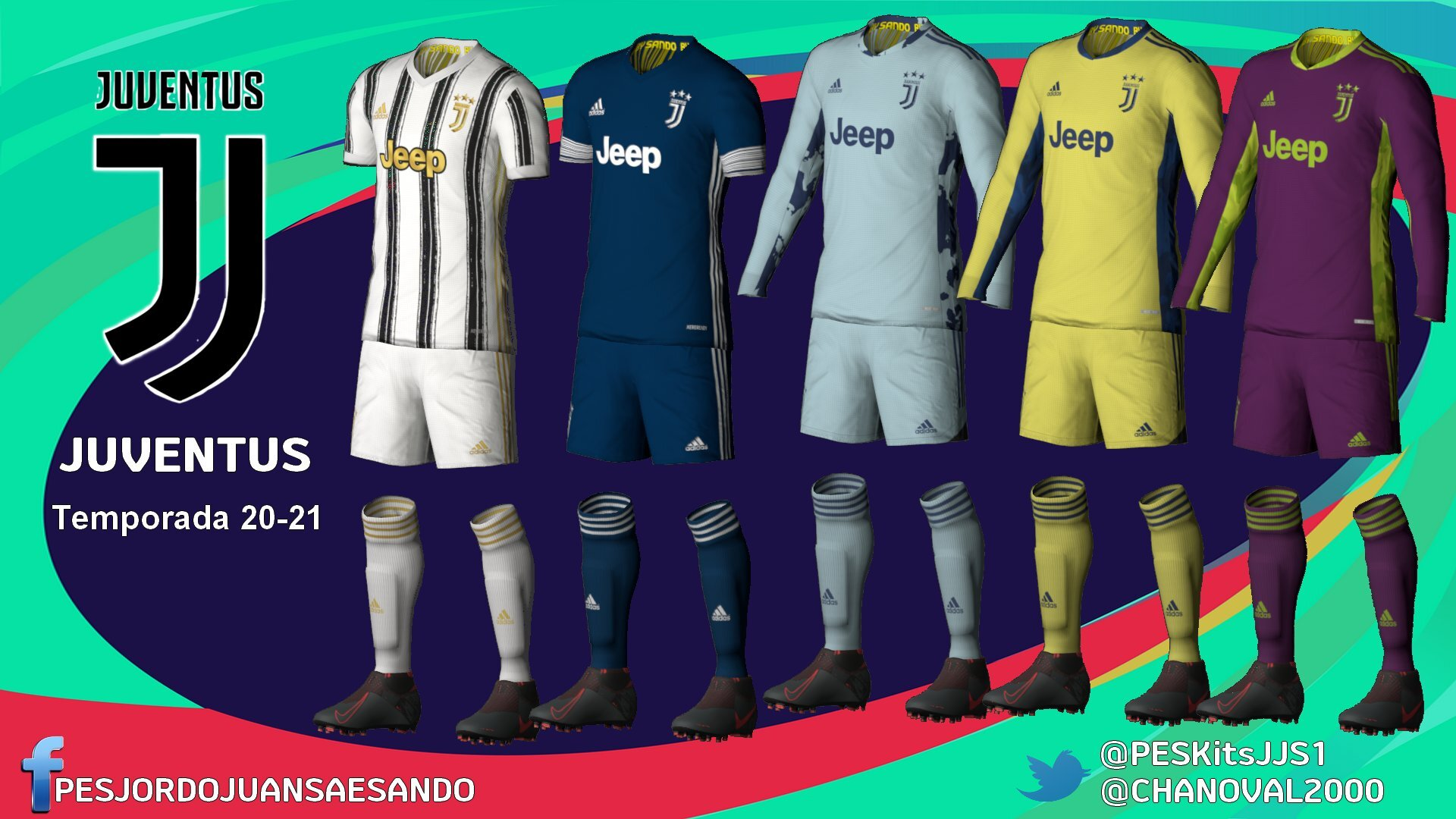 Kits Juventus 2020/2021 by Sando