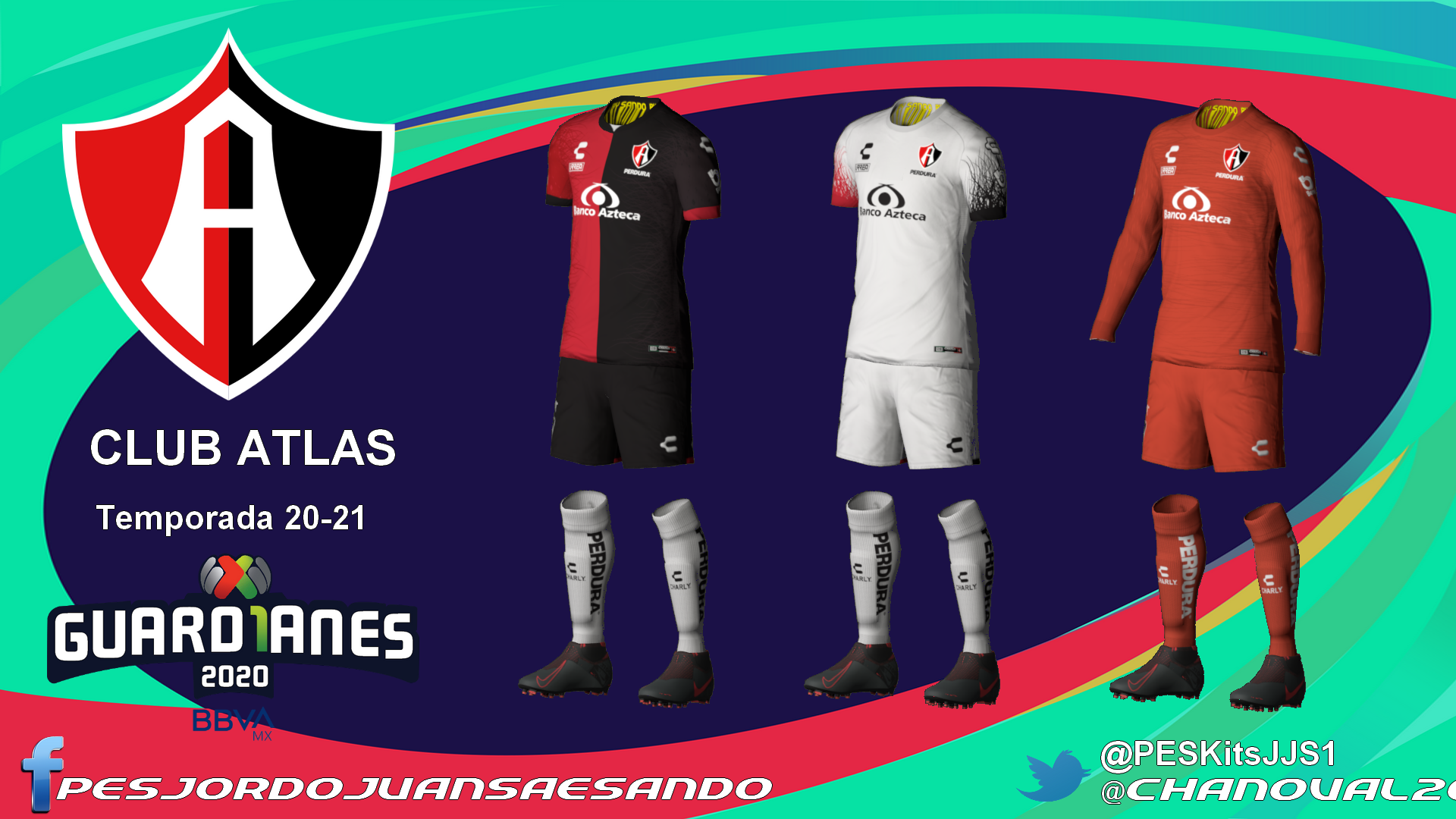 Kits Club Atlas 2020/2021 by Sando