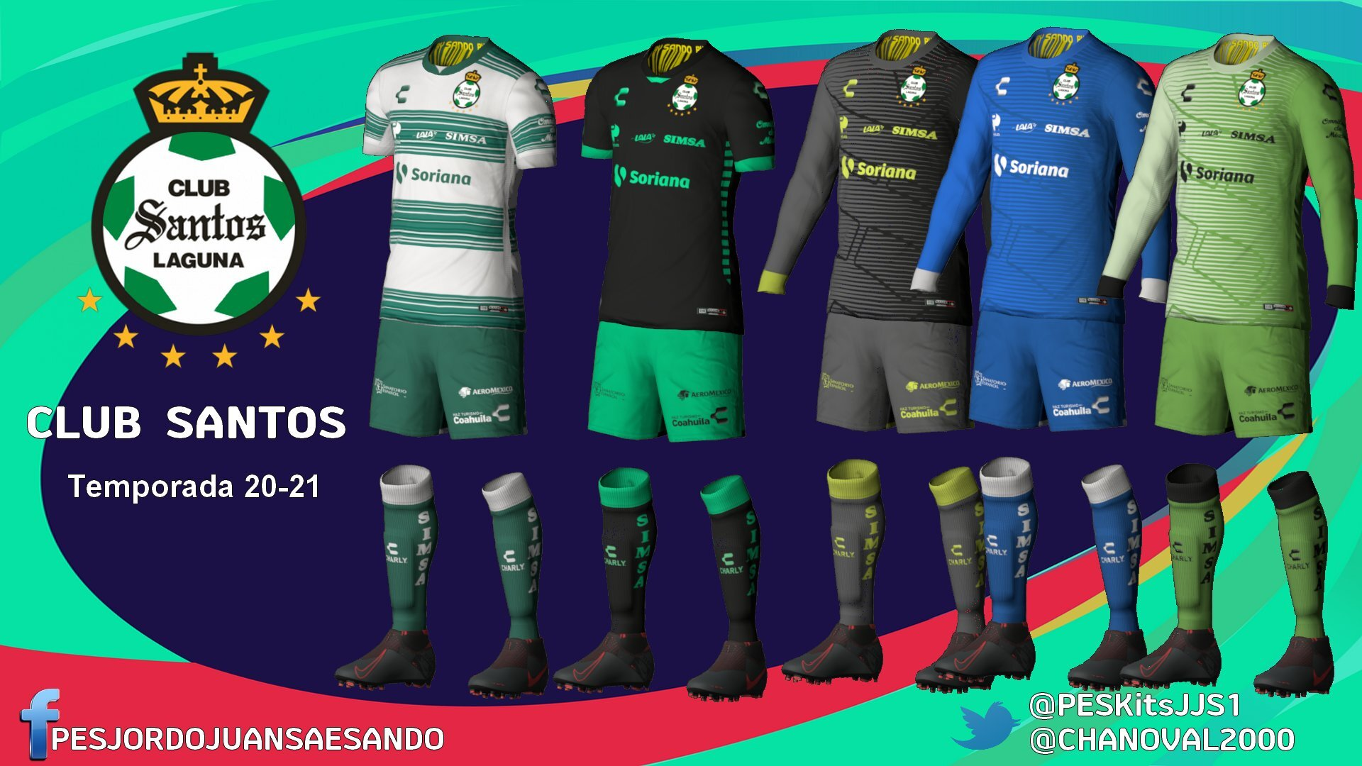 Kits Club Stantos Laguna 2020/2021 by Sando