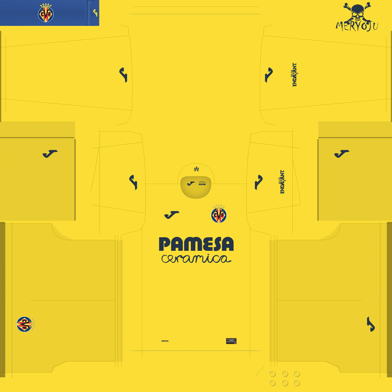 Kits Villarreal FC 2020/2021 by Meryoju