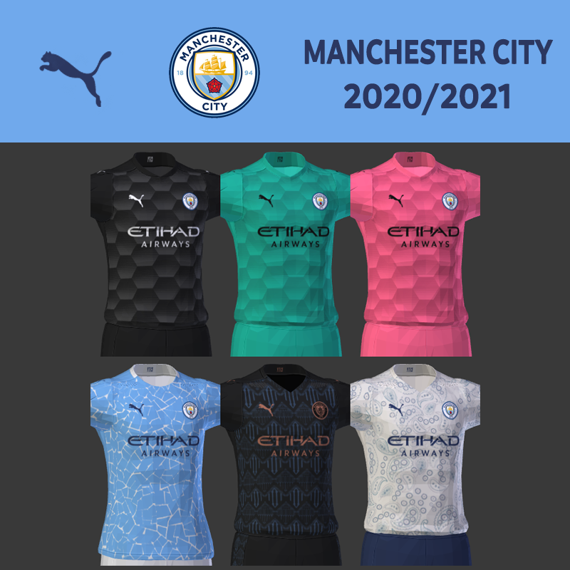 Kits Manchester United 2020/2021 by DarkHero93