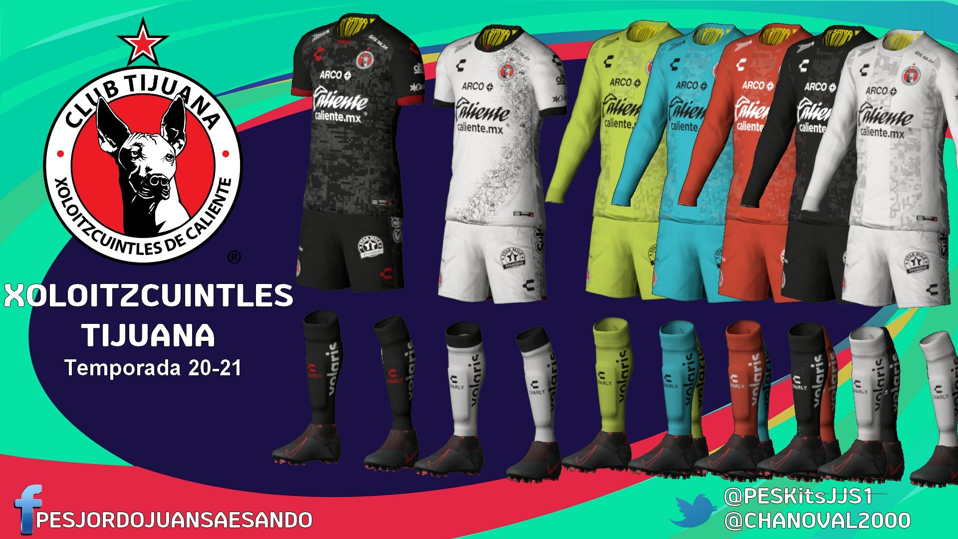 Kits Club Tijuana 2020/2021 by Sando