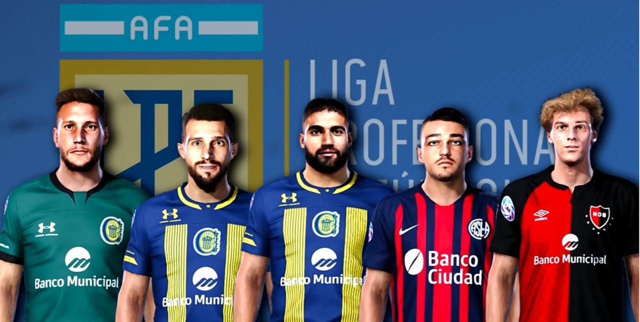 Facepack Liga Argentina vol.3 by Gordoumbanda