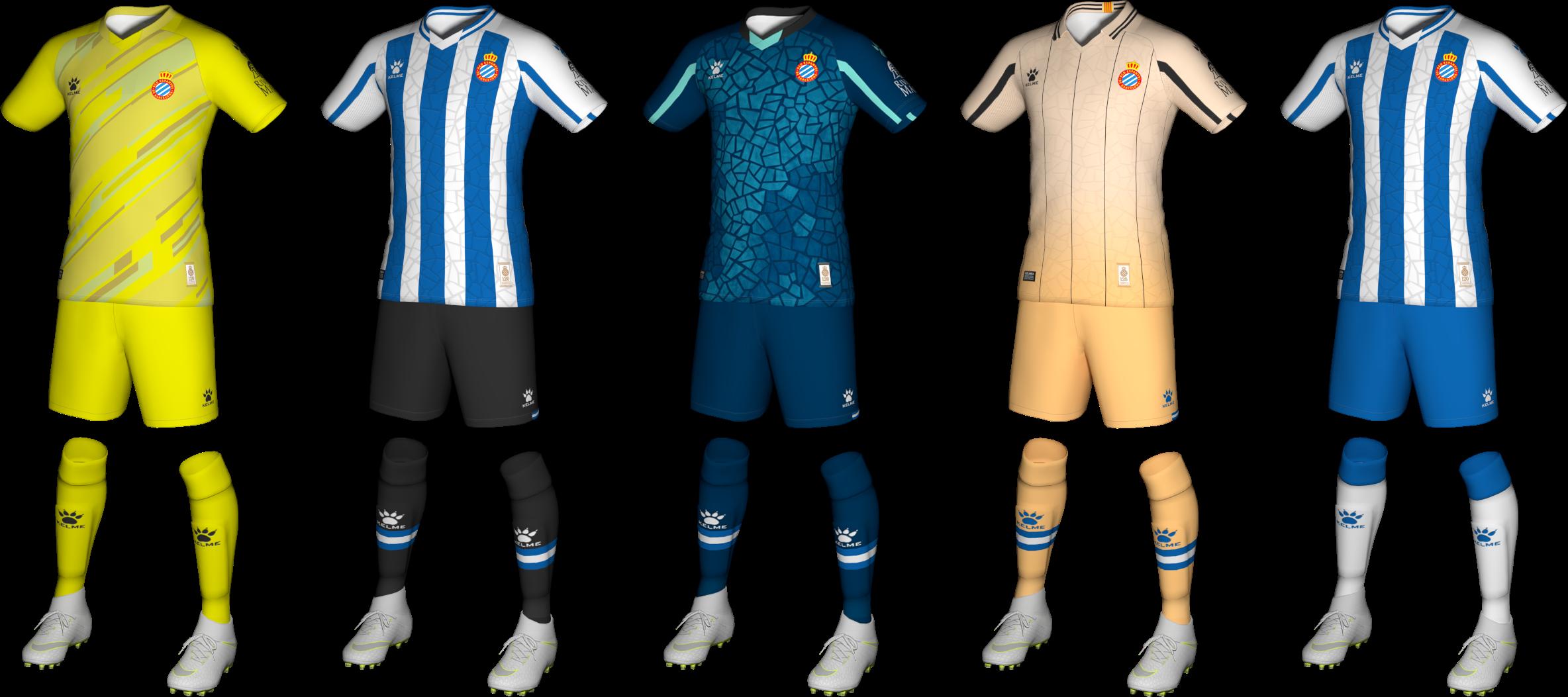 Kits RCD Espanyol 2020/2021 by Txak