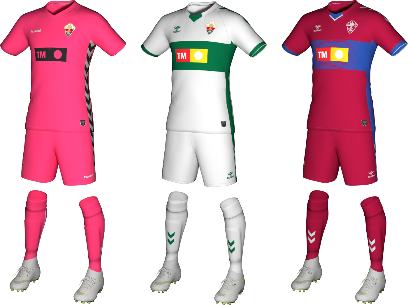 Kits Elche 2020/2021 by Txak
