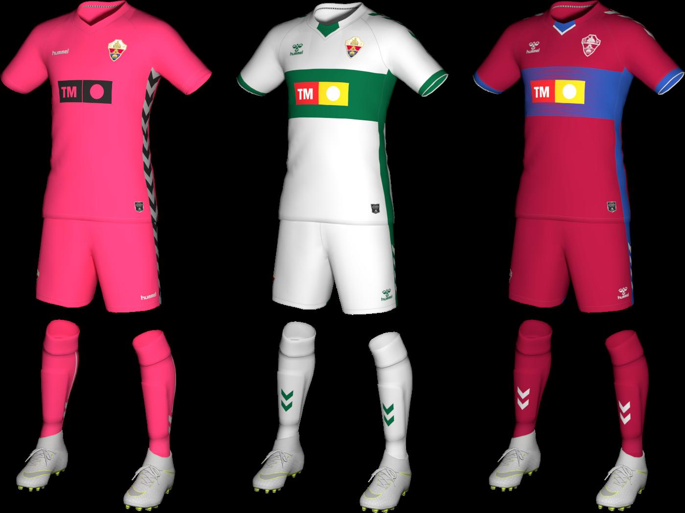 Kits Elche 2020/2021 by Txak