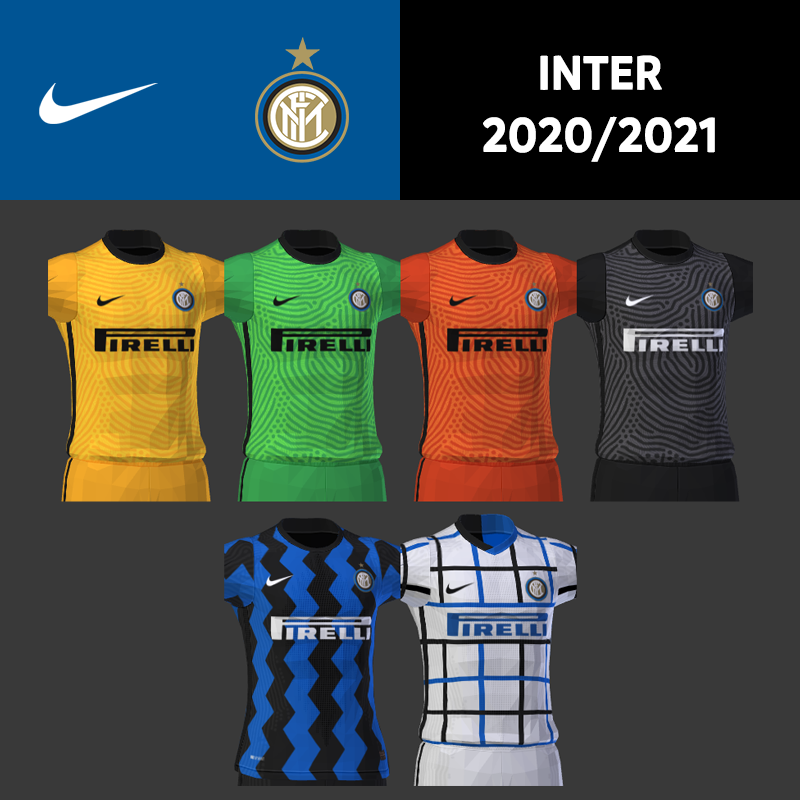 Kits Inter 2020/2021 by DarkHero93
