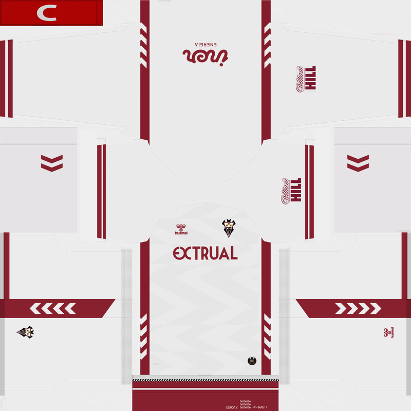 Kits Albacete 2020/2021 by AMC CF