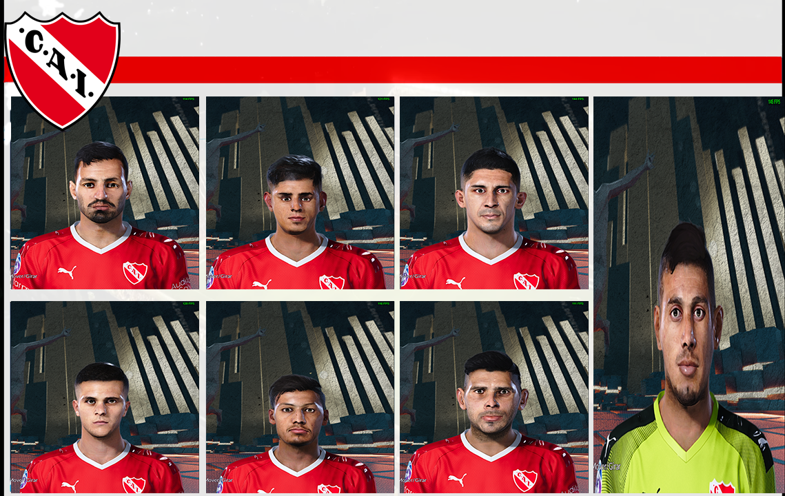 Facepack Independiente by Hectorr