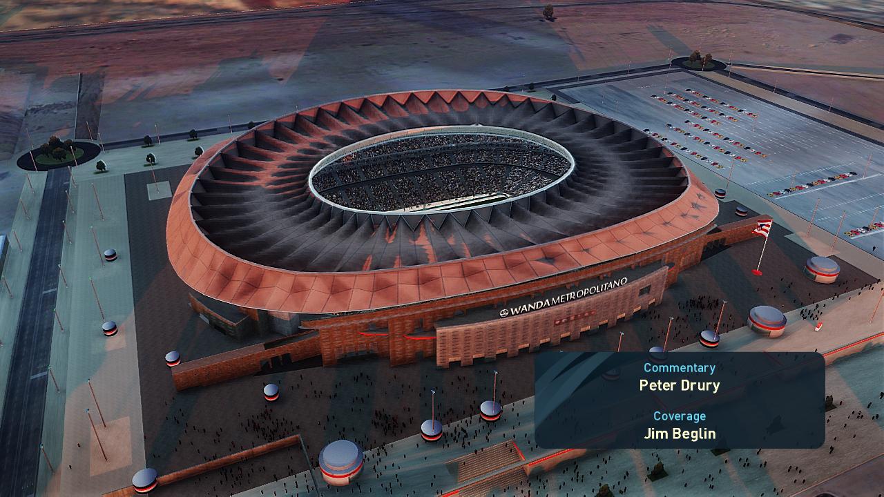 Wanda Metropolitano + aerial view by Jostike