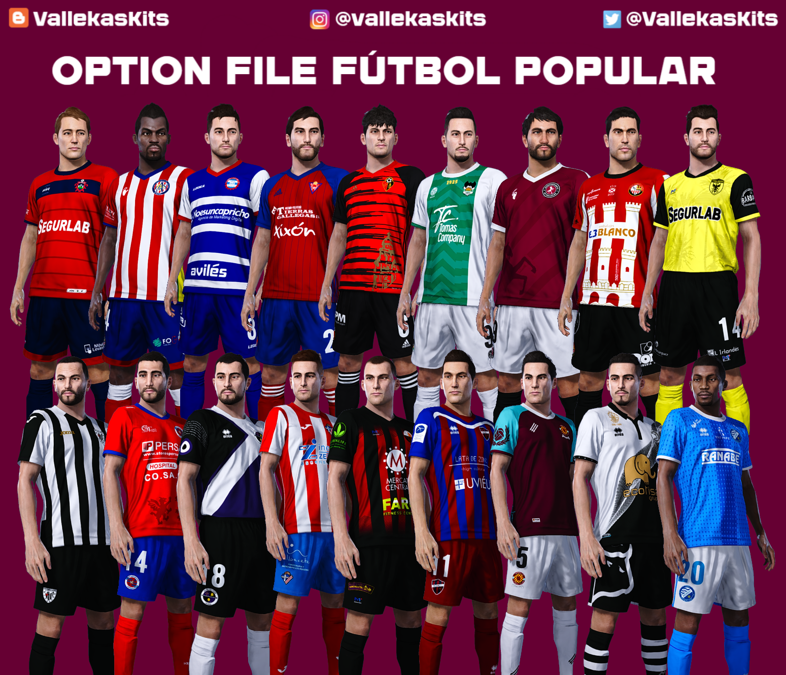 Option File fútbol popular