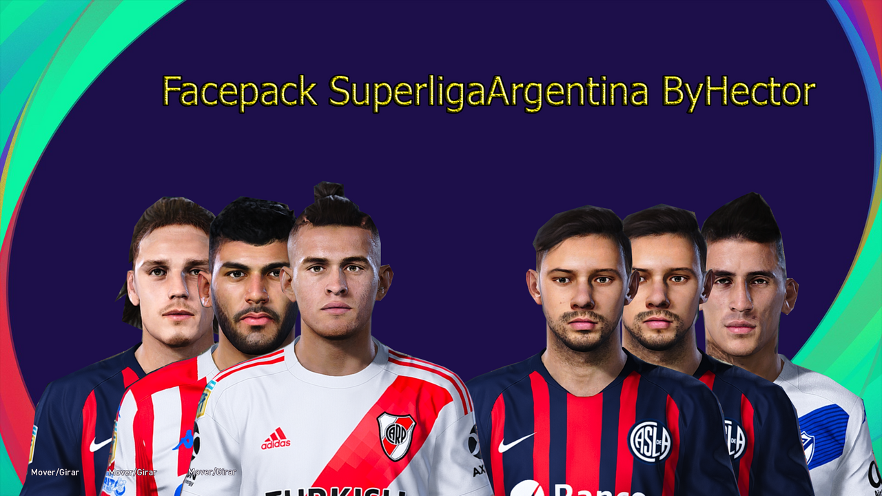 Facepack Superliga Argentina by Hectorr