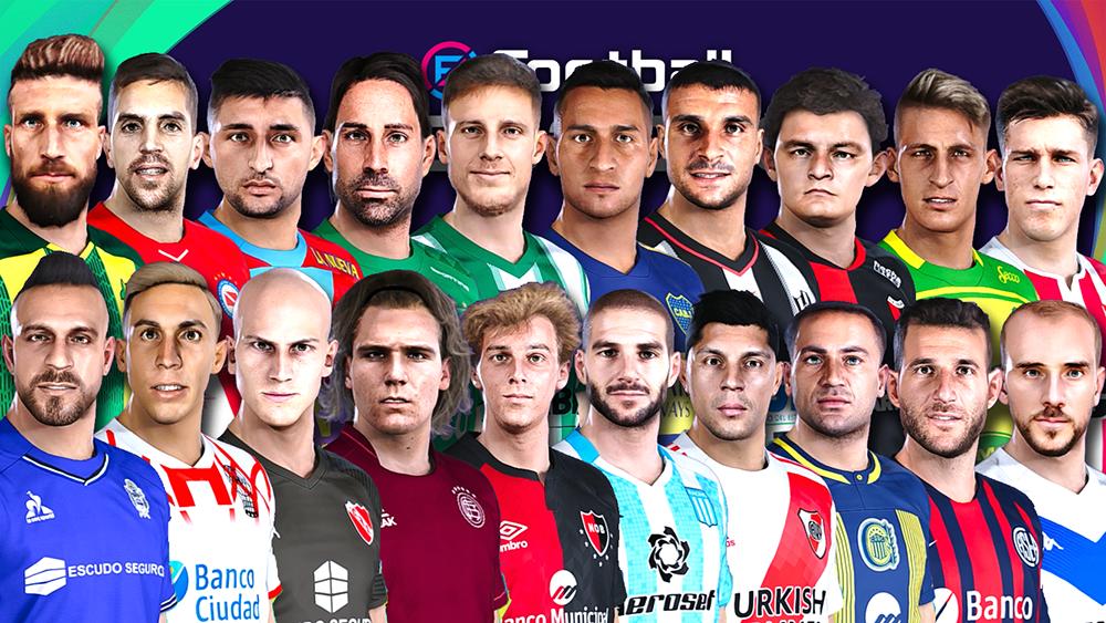 Mega facepack Liga Argentina by Gordoumbanda
