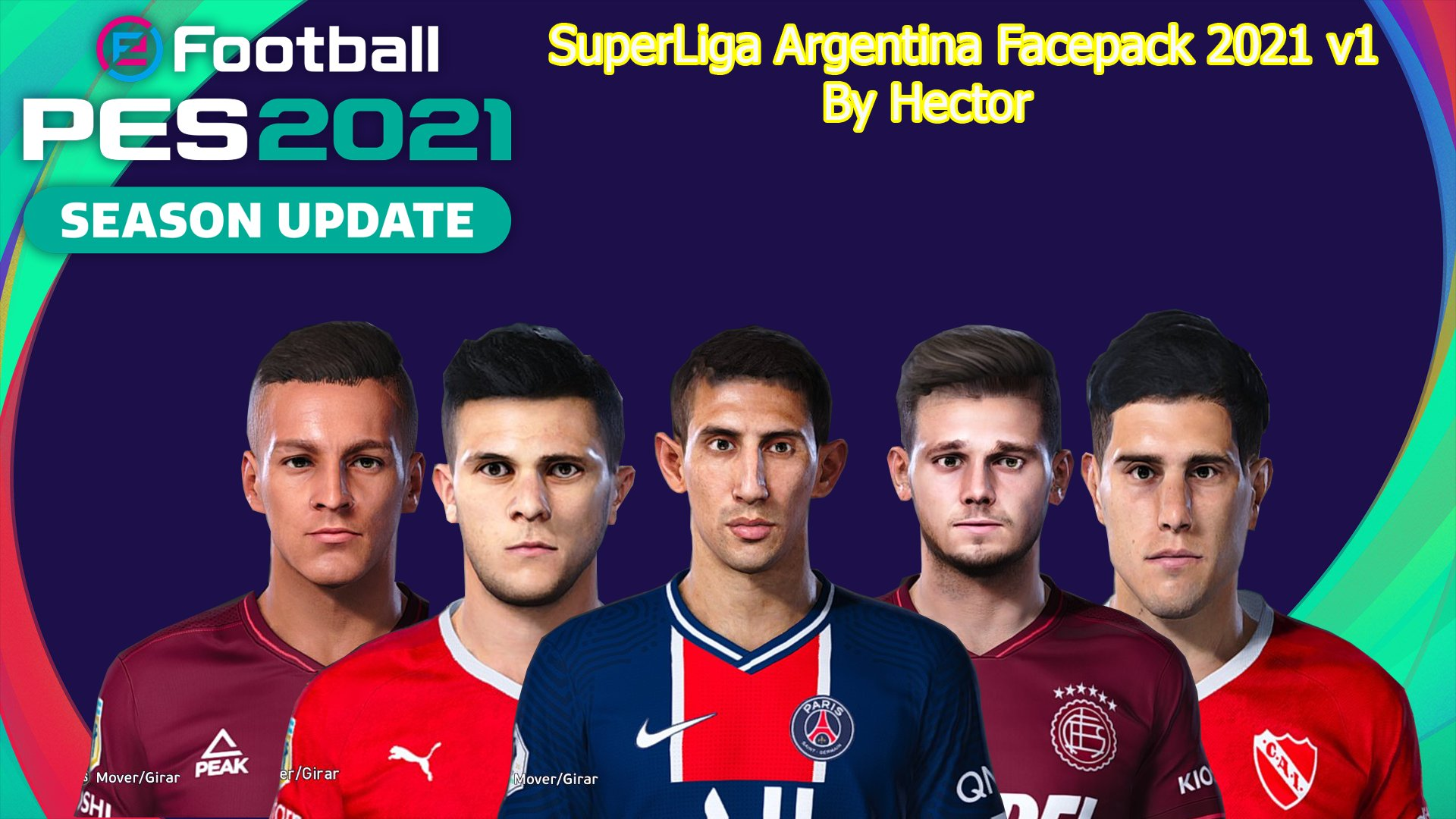 Facepack Argentina by Hector