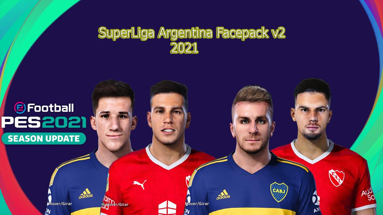 Facepack Liga Argentina vol. 2 by Hectorr