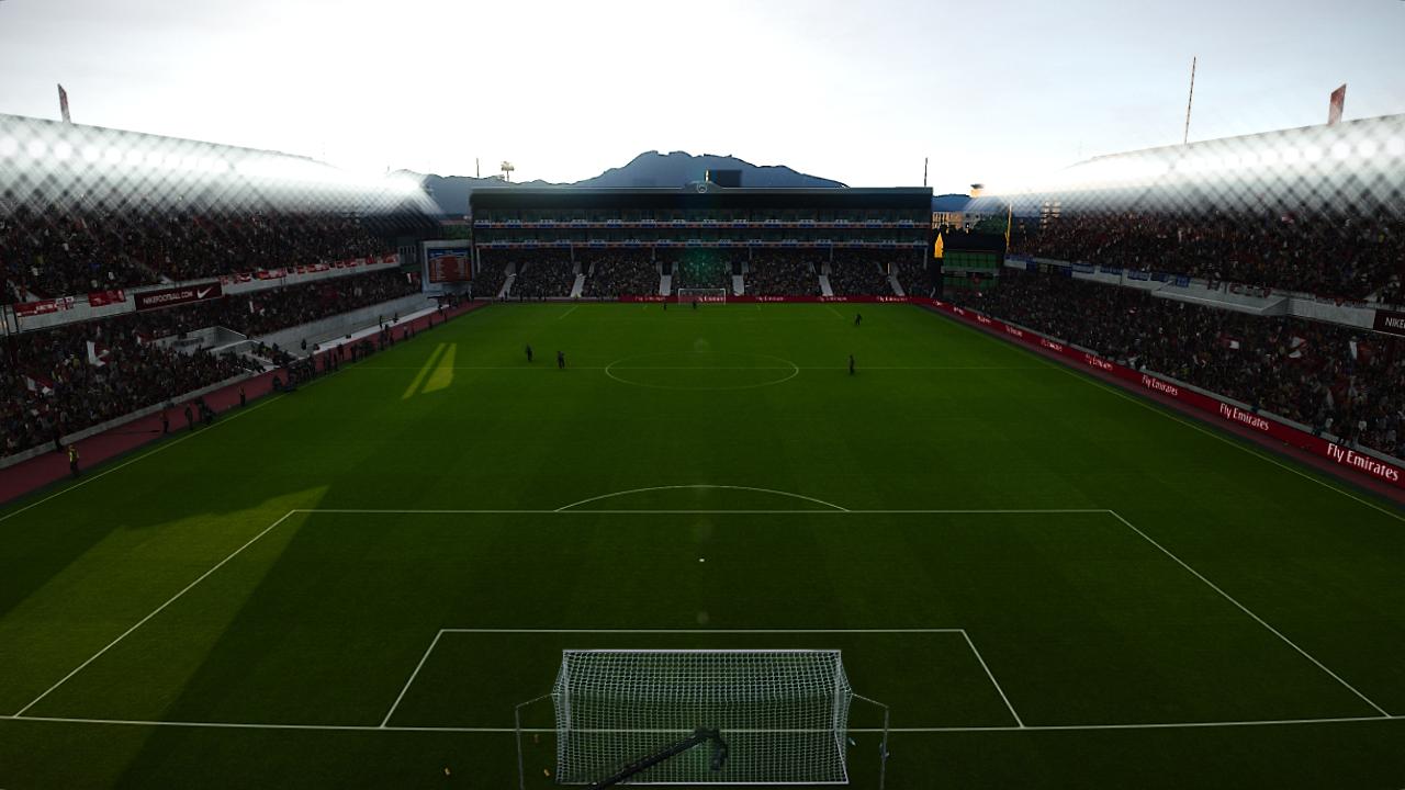 Highbury Stadium by Jostike