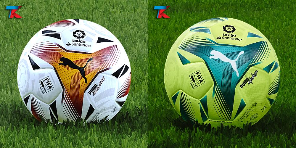 LaLiga Santander/Smartbank 21/22 balls by Txak